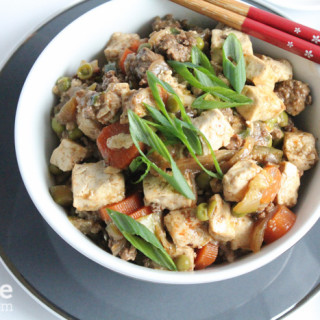 Mapo Tofu from @SteamyKitchen for #SundaySupper