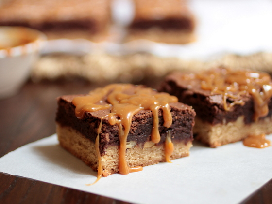 Caramel Congo Bars | Vintage Kitchen Notes_main