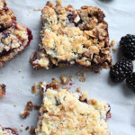 Blueberry Crumble Granola Bars and A Bestowed Giveaway!