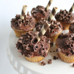 Chocolate Banana Cupcakes!