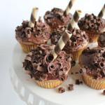Chocolate Banana Cupcakes!