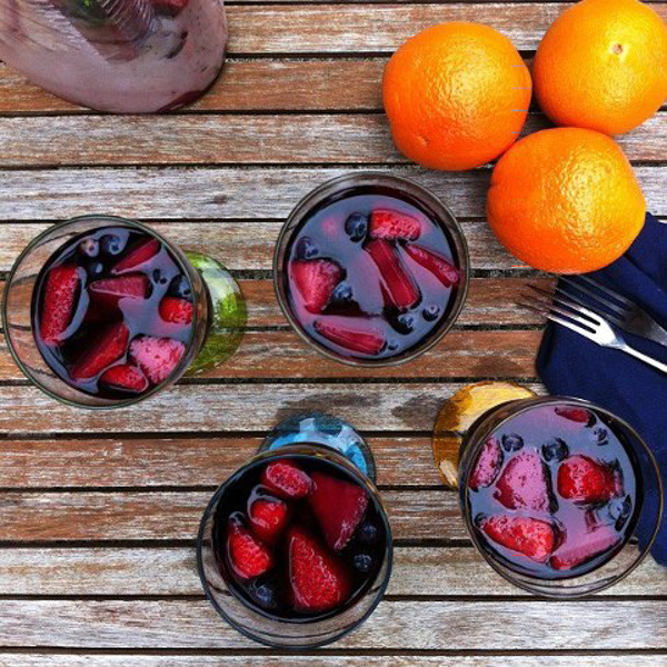 sangria instagram photo | HipFoodieMom.com