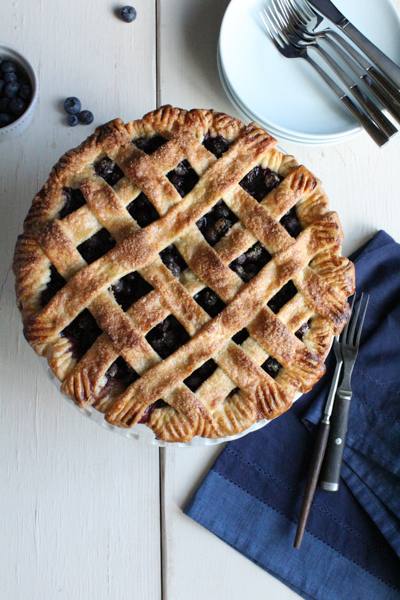 Blueberry Pie vertical | HipFoodieMom.com