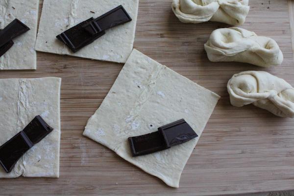 Chocolate Croissants step1 | HipFoodieMom.com