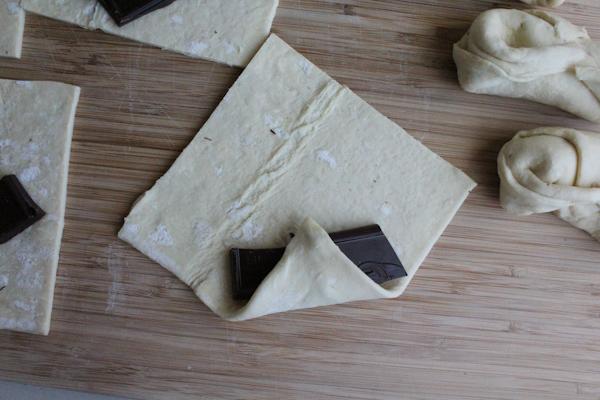 Chocolate Croissants step2 | HipFoodieMom.com