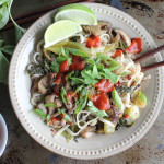 Spicy Asian Noodles With Coconut Sauce