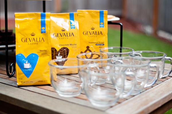 gevalia coffee shot | HipFoodieMom.com