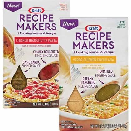 Sponsored Kraft Recipe Makers Chicken Bruschetta Pasta Hip Foodie Mom