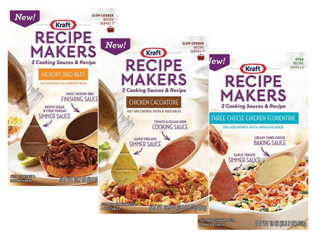 FREE Kraft Recipe Makers at Do...