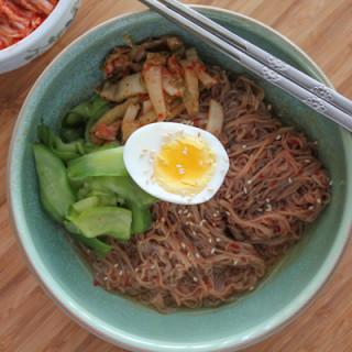 Bibim Naeng Myun (Spicy Cold Noodles)