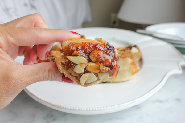 Cheater Sticky Buns_single | HipFoodieMom.com