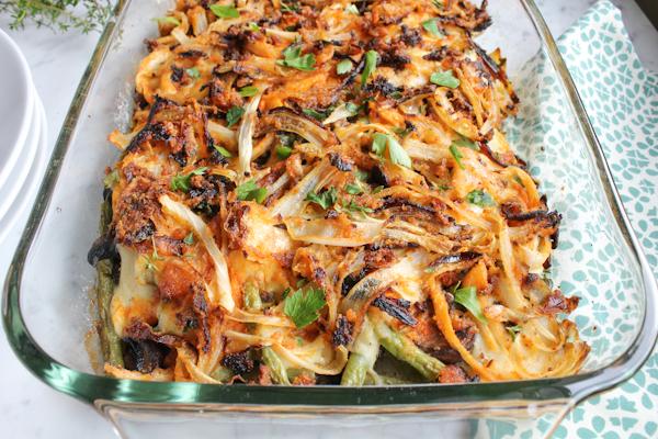 Healthy Green Bean Casserole The green bean casserole . . reinvented ...