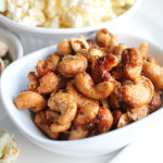 Orange Spiced Cashews for a Crunchy #SundaySupper