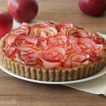 Guest Post: Apple Walnut Tart with Maple Custard from Baking A Moment