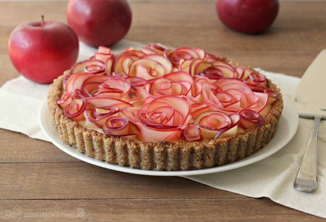 Guest Post: Apple Walnut Tart with Maple Custard from Baking A Moment ...