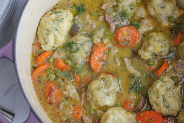 One Pot Chicken and Dumplings . . it doesn't get any better than this!