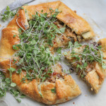 Best Ever Leek and Mushroom Galette + a giveaway!