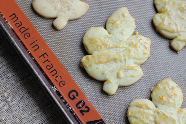 Orange Cut Out Cookies with Orange Cardamom Icing3 | HipFoodieMom.com