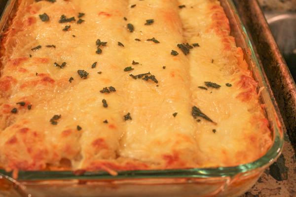 Roasted Butternut Squash Lasagna | HipFoodieMom.com