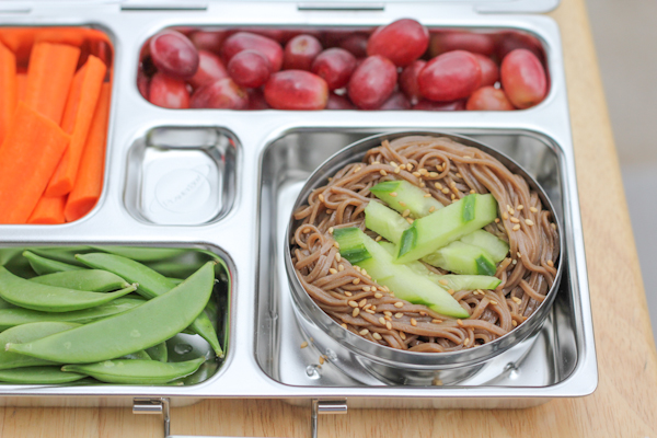 Soba Noodles in PlanetBox2 | HipFoodieMom.com