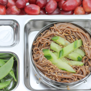 Easy Soba Noodles for Lunch, Featuring my Rover PlanetBox