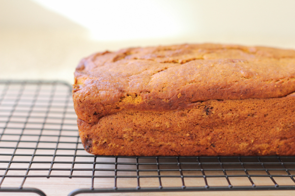 Best Ever Pumpkin Bread_side | HipFoodieMom.com