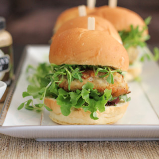 Asian Patty Sliders