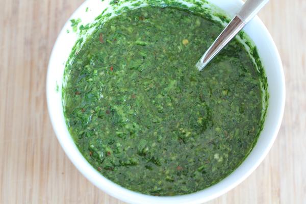 Chimichurri sauce | HipFoodieMom.com