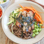 Soba Noodles with Marinated Chicken + A Stubb's BBQ Giveaway!