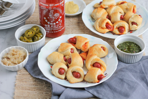 Spicy Honey Sriracha Pigs in a Blanket_main2 | HipFoodieMom.com