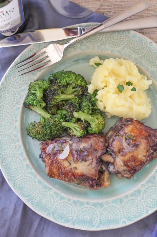 Rosemary Garlic Chicken Thighs_onplate_vertical