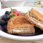 Apple, Prosciutto and Gruyere Grilled Cheese for @GalloFamily #SundaySupper
