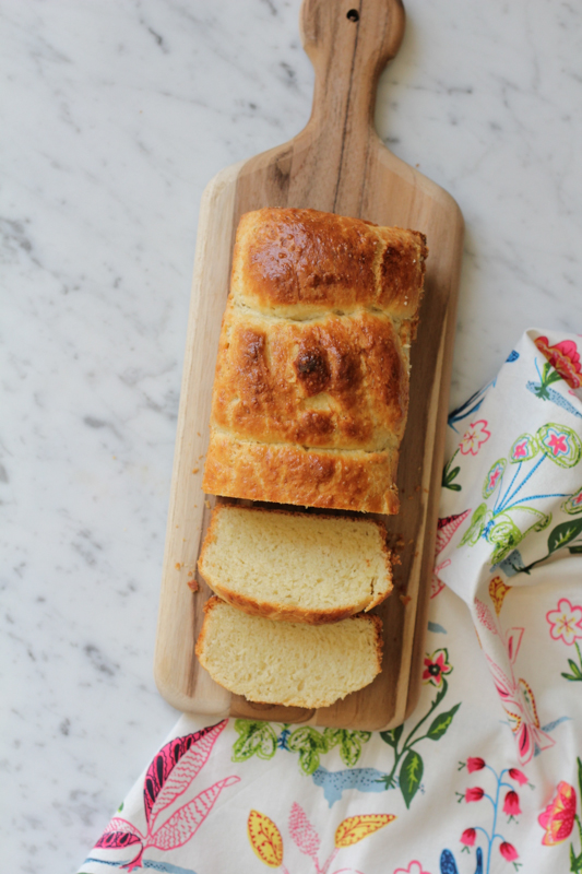 Soft, flaky, buttery and everything delicious. Homemade Brioche Loaves with Fresh Strawberry Jam. Don't miss this recipe!