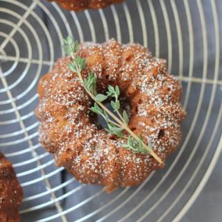 Orange Cardamom Mini Bundt Cakes for #BundtBakers