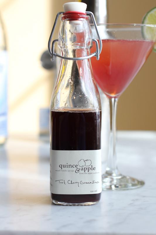 Quince and Apple Tart Cherry Grenadine