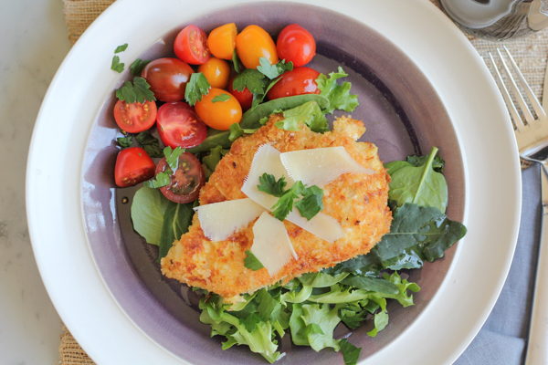Spicy Chicken Milanese! For a super-quick and delicious chicken dinner ...