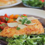 Spicy Chicken Milanese for a Guest Post