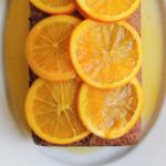 Strawberry and Orange Quick Bread with Candied Orange Marmalade
