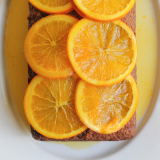 Strawberry and Orange Quick Bread with Candied Orange Marmalade