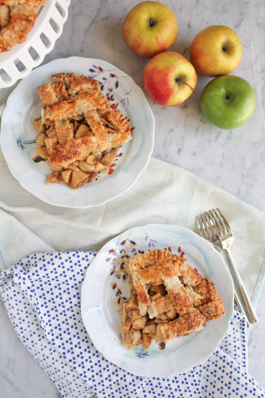 Apple Pie Slices | HipFoodieMom.com