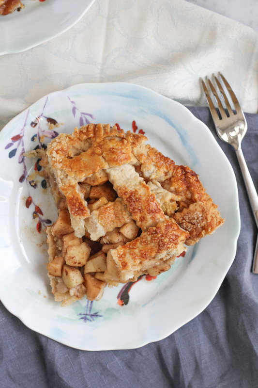 Apple Pie slice | HipFoodieMom.com