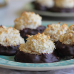 Best Ever Coconut Macaroons for 5 Ingredients or Less #SundaySupper