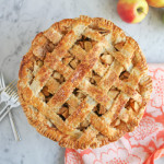 Lattice Top Apple Pie #BakeForGood + A BIG @KingArthurFlour Giveaway!