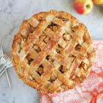 Lattice Top Apple Pie #BakeForGood + A BIG @KingArthurFlour Giveaway!