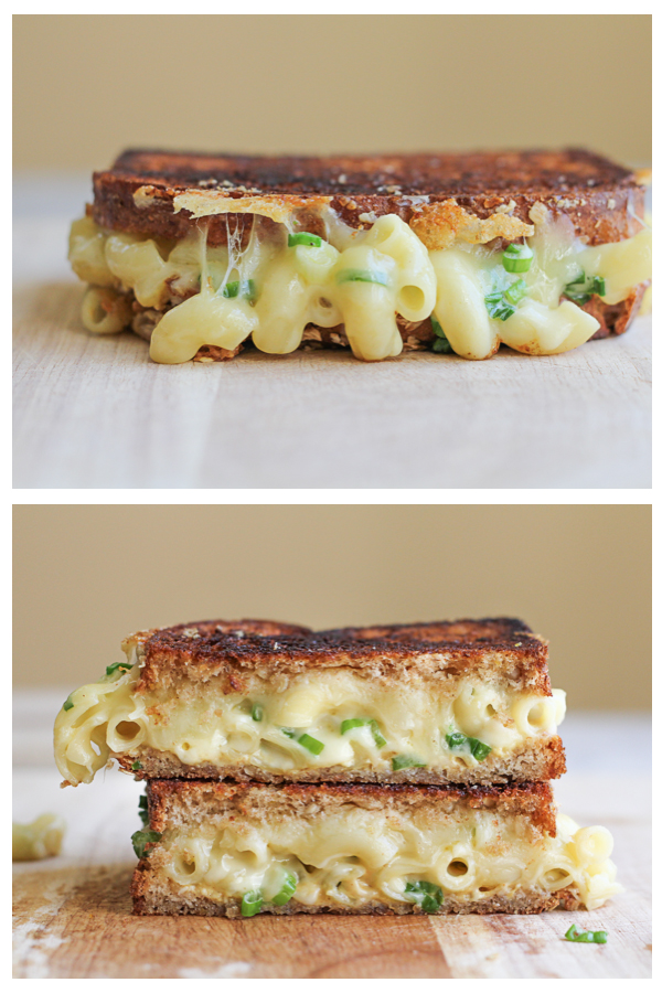 Mac and cheese grilled cheese_stacked_two