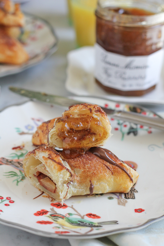 Apple Croissants with Fig Jam_2 | HipfoodieMom.com
