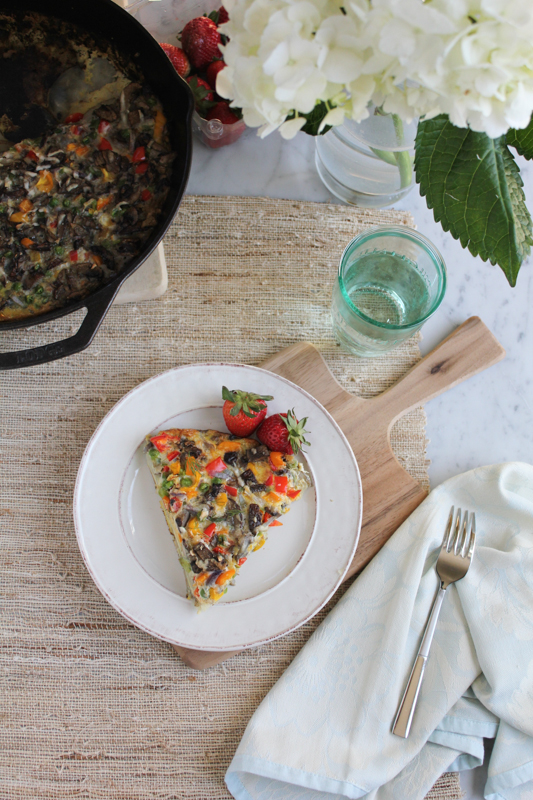 Veggie and Scalloped Potato Frittata_a | HipfoodieMom.com