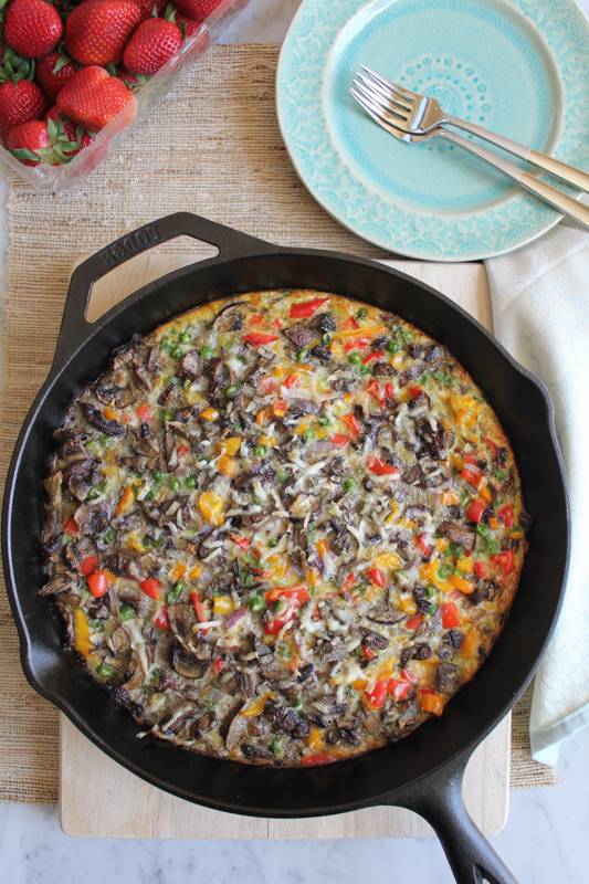 Veggie and Scalloped Potato Frittata_vertical | HipfoodieMom.com