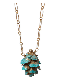 blue_pinecone_nacklace