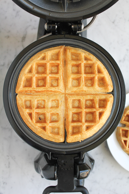 finished waffle